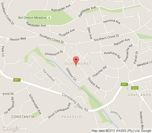 Map Constantia Garden Suites in Constantia (CPT)  Southern Suburbs (CPT)  Cape Town  Western Cape  South Africa
