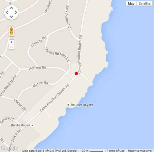 Map Nine Frinton in Ballito  North Coast (KZN)  KwaZulu Natal  South Africa