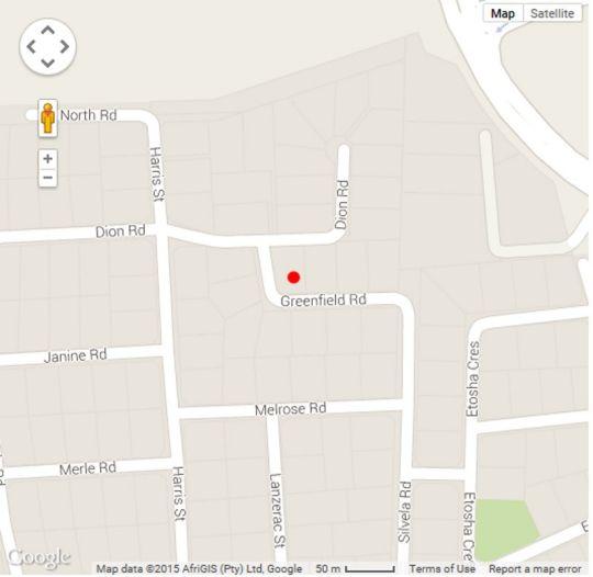 Map Sandown Estate B \'n B in Sandown  Sandton  Johannesburg  Gauteng  South Africa