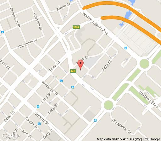 Map 605 Icon in De Waterkant  City Bowl  Cape Town  Western Cape  South Africa