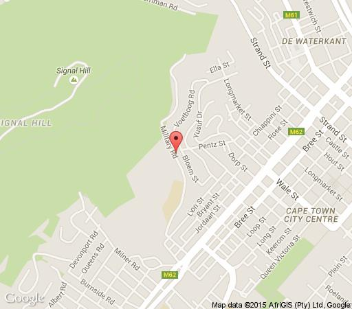 Map Signal Hill Lodge in Bokaap  City Bowl  Cape Town  Western Cape  South Africa