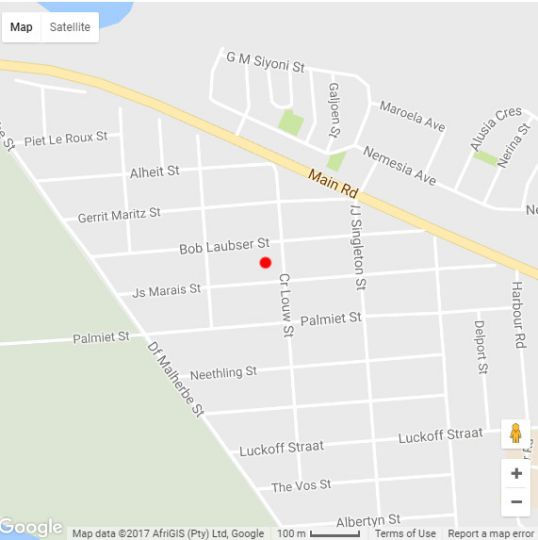 Map 3 Geckos Self-catering in Kleinmond  Overberg  Western Cape  South Africa