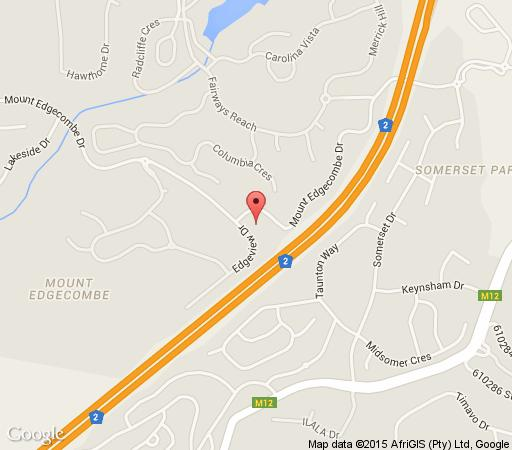 Map Moya Self Catering in Mount Edgecombe  Umhlanga  Northern Suburbs (DBN)  Durban and Surrounds  KwaZulu Natal  South Africa