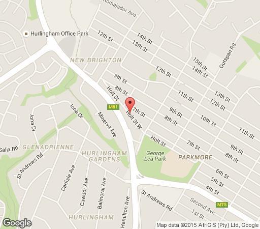 Map Sandton Leopard Tree Lodge in Sandton Central  Sandton  Johannesburg  Gauteng  South Africa