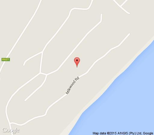 Map Casa Catherine Brauns in Zimbali  North Coast (KZN)  KwaZulu Natal  South Africa
