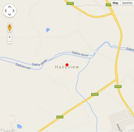 Map Nandina Guest House and Self Catering in Hazyview  The Panorama  Mpumalanga  South Africa