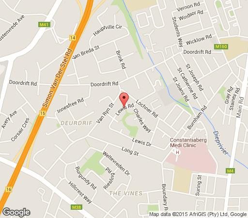 Map 7 on Lewis in Constantia (CPT)  Southern Suburbs (CPT)  Cape Town  Western Cape  South Africa
