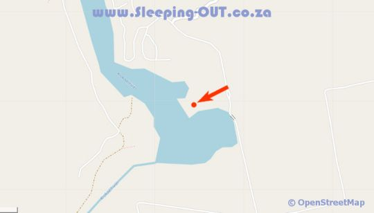 Map Ileven Heaven in Hartbeespoort  Bojanala  North West  South Africa