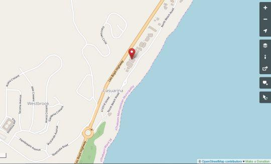 Map Bali Hai 202 in Westbrook  North Coast (KZN)  KwaZulu Natal  South Africa