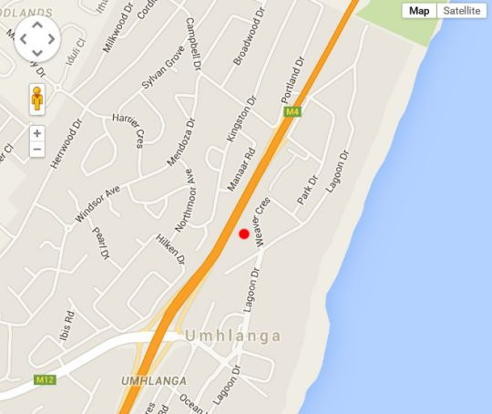Map 14 The Shades in Umhlanga Rocks  Umhlanga  Northern Suburbs (DBN)  Durban and Surrounds  KwaZulu Natal  South Africa