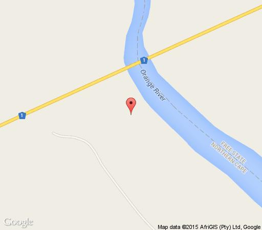 Map River Destiny Lodge in Colesberg  Upper Karoo  Northern Cape  South Africa
