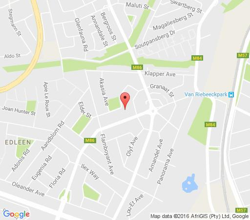 Map All Danquah Lodge in Kempton Park  Ekurhuleni (East Rand)  Gauteng  South Africa
