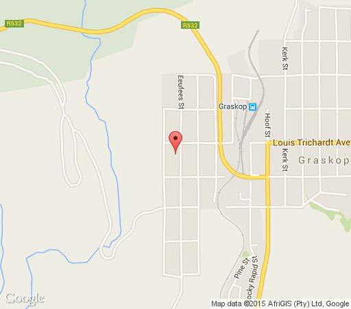 Map Hillview holiday cottage in Graskop  The Panorama  Mpumalanga  South Africa