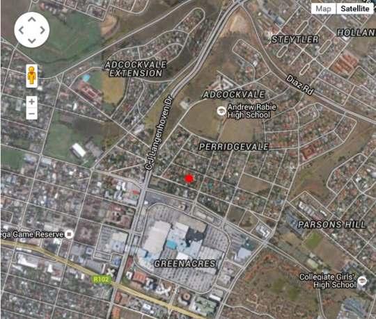 Map 39 on Nile Guesthouse in Perridgevale  Port Elizabeth  Cacadu (Sarah Baartman)  Eastern Cape  South Africa