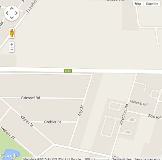 Map Fin and Feather Guesthouse in Boksburg  Ekurhuleni (East Rand)  Gauteng  South Africa