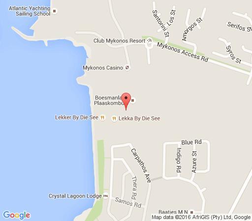 Map Club Mykonos Kaliva 592 in Langebaan  West Coast (WC)  Western Cape  South Africa