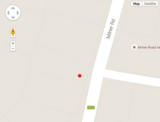 Map Milner Cottage in Rondebosch  Southern Suburbs (CPT)  Cape Town  Western Cape  South Africa