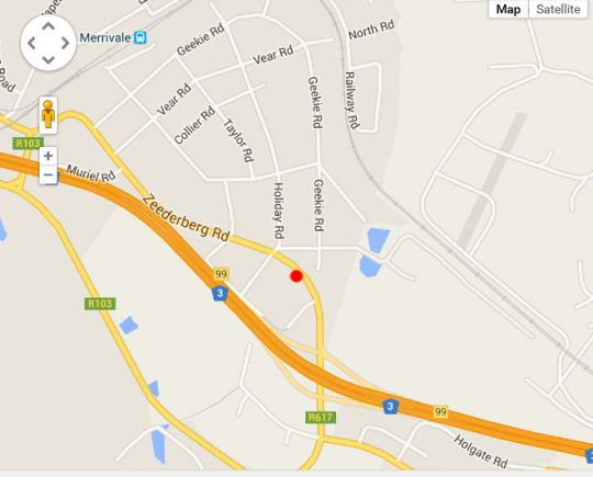 Map Overnight Accommodation in Howick  Midlands  KwaZulu Natal  South Africa