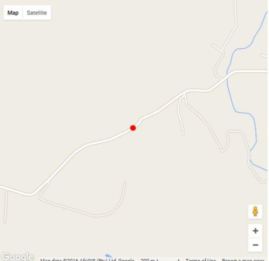 Map Horseback Africa - Pinto\'s Lodge in Cullinan  Pretoria North  Pretoria / Tshwane  Gauteng  South Africa