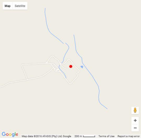 Map Dawsons Game Lodge in Badplaas  Lowveld  Mpumalanga  South Africa