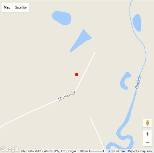 Map Douglas View in Underberg  Southern Drakensberg  Drakensberg (KZN)  KwaZulu Natal  South Africa