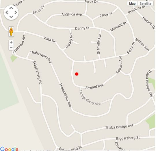 Map Glenvista Executive Guest House and Conferencing in Glenvista  Johannesburg South  Johannesburg  Gauteng  South Africa