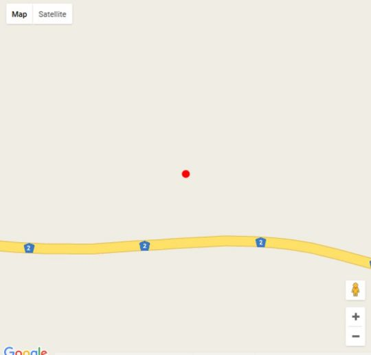 Map Eagles Nest in George  Garden Route  Western Cape  South Africa