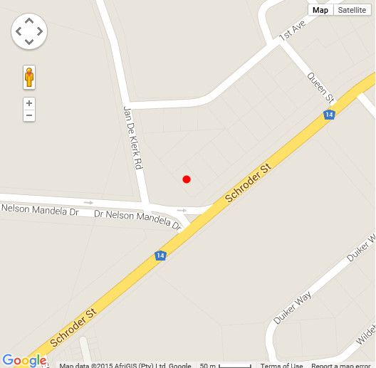 Map MultiPro Manor in Upington  Green Kalahari  Northern Cape  South Africa
