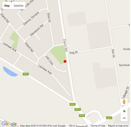 Map Leika Airport Lodge in Kempton Park  Ekurhuleni (East Rand)  Gauteng  South Africa