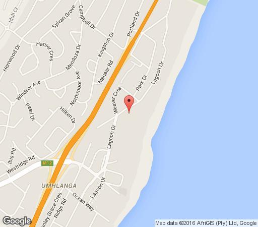 Map Hilken Lodge apartment in Umhlanga Rocks  Umhlanga  Northern Suburbs (DBN)  Durban and Surrounds  KwaZulu Natal  South Africa