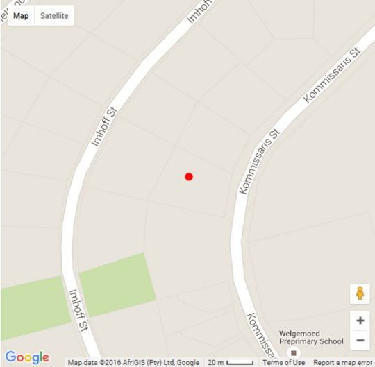 Map The Welgemoed Guest House in Welgemoed  Northern Suburbs (CPT)  Cape Town  Western Cape  South Africa