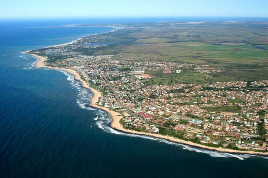 Map The Cottage in Jeffreys Bay  Cacadu (Sarah Baartman)  Eastern Cape  South Africa