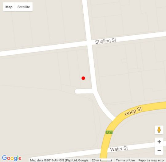 Map Carmel Villa in Calvinia  Hantam Karoo  Northern Cape  South Africa