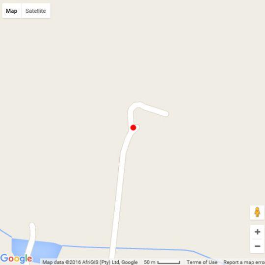 Map LoerieRoep in Nelspruit  Lowveld  Mpumalanga  South Africa