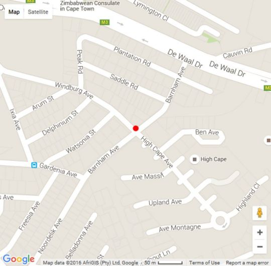 Map 205 Pine Park in Vredehoek  City Bowl  Cape Town  Western Cape  South Africa