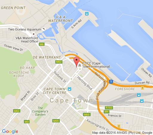 Map 501 Canal Quays in Waterfront  City Bowl  Cape Town  Western Cape  South Africa