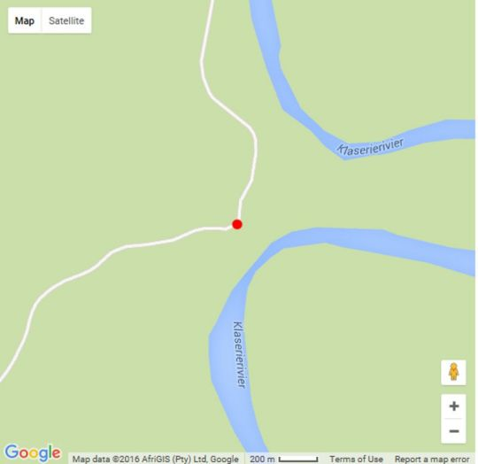 Map Misava Safari Camp in Hoedspruit  Valley of the Olifants  Limpopo  South Africa