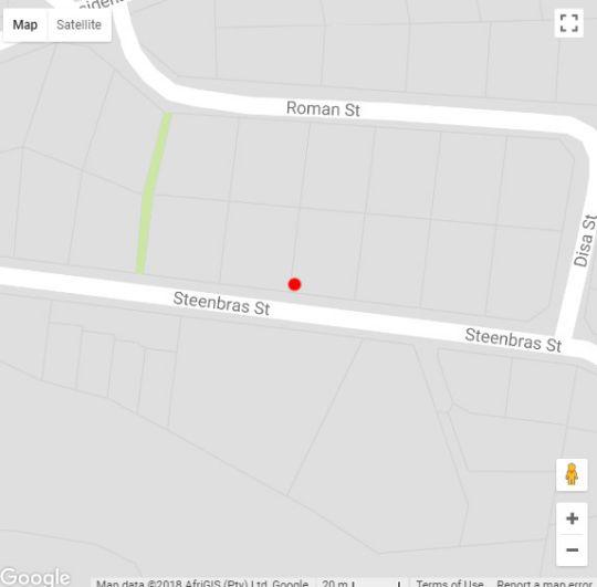 Map Brenton Breakers in Knysna  Garden Route  Western Cape  South Africa