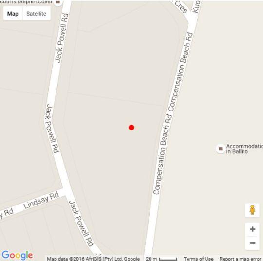 Map 57 La Pirogue in Ballito  North Coast (KZN)  KwaZulu Natal  South Africa