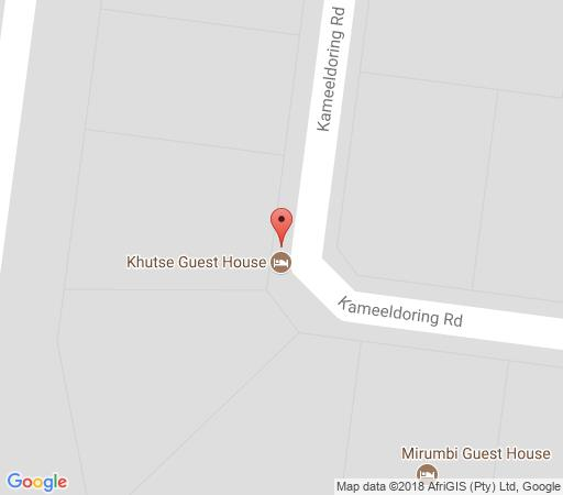 Map Khutse guesthouse in Lephalale  Waterberg  Bushveld  Limpopo  South Africa
