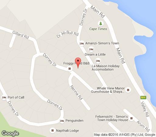 Map Restio Garden Studio in Simon's Town  False Bay  Cape Town  Western Cape  South Africa