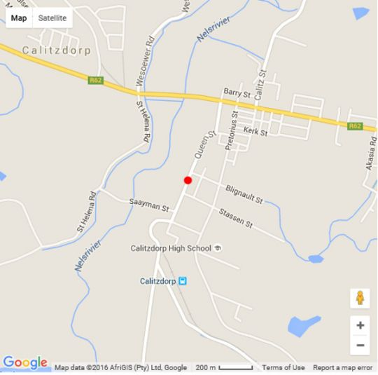 Map The Queen of Calitzdorp in Calitzdorp  Klein Karoo  Western Cape  South Africa