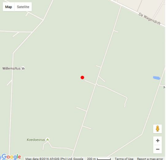 Map Foreva Wild in Dinokeng North  Metsweding District  Gauteng  South Africa