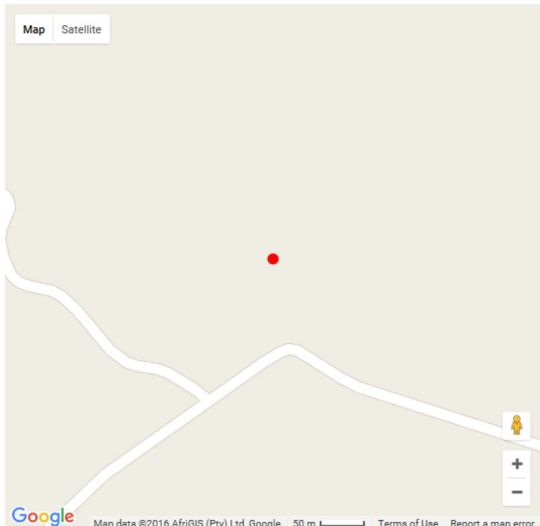 Map Naledi Star in Magaliesburg  West Rand  Gauteng  South Africa