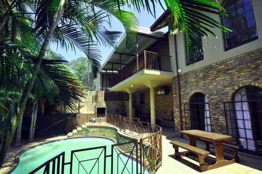 Map Home Lodge Nelspruit in Nelspruit  Lowveld  Mpumalanga  South Africa