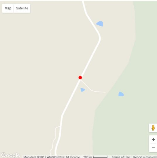 Map Hope Springs Eternal in Bela Bela  Bushveld  Limpopo  South Africa