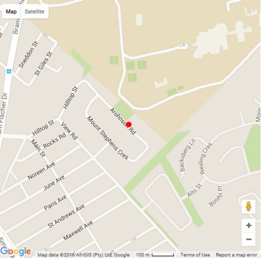 Map Sandton Slippers B&B in Sandton Central  Sandton  Johannesburg  Gauteng  South Africa