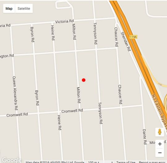 Map 66 on Milton Guesthouse in Edenvale  Ekurhuleni (East Rand)  Gauteng  South Africa