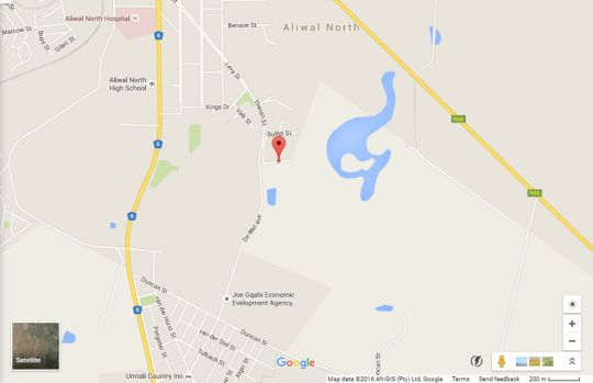 Map Little Ranch Restaurant and BBQ Bar in Aliwal North  Drakensberg (EC)  Eastern Cape  South Africa