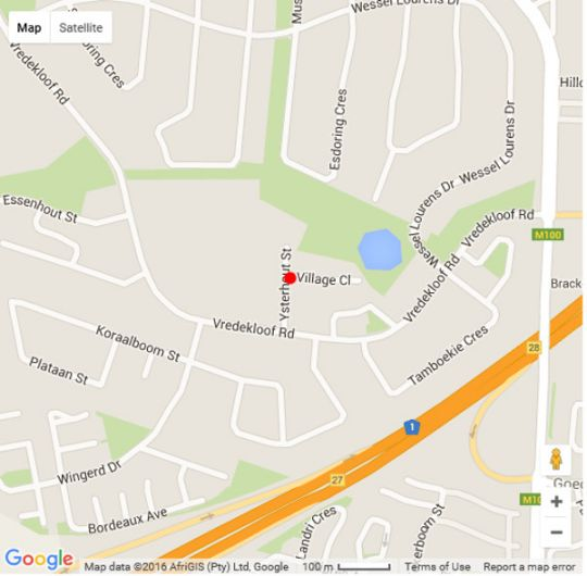 Map Cat\'s Eye Cottage in Brackenfell  Northern Suburbs (CPT)  Cape Town  Western Cape  South Africa